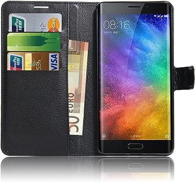 Anzhao Xiaomi Mi Note 2 Funda Funda de Cuero Piel Carcasa con ...