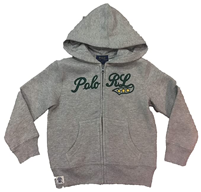 Polo Ralph Lauren - LSL FZ Fleece - Pointe Grey Heather - Sudadera ...