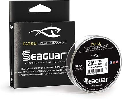 Seaguar Tatsu Freshwater Fluorocarbon Fishing Line Select Lb Test 200 Yards