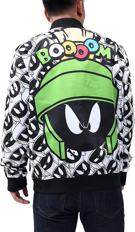 Marvin The Martian Reversible Bomber Jacket