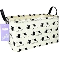 INGHUA Rectangular Storage Basket Fabric Organizer Bin for Toys,Books,Clothes,Gifts,Pets-Perfect for Home,Office,Nursery…