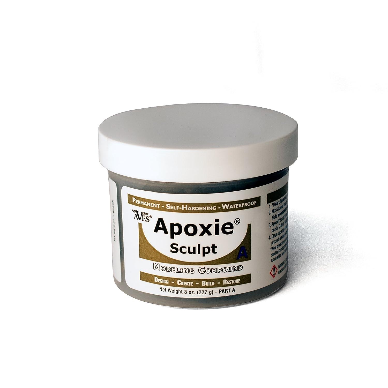 Apoxie Sculpt 1 Lb. Black, 2 part product (A & B) Aves as1lb-black