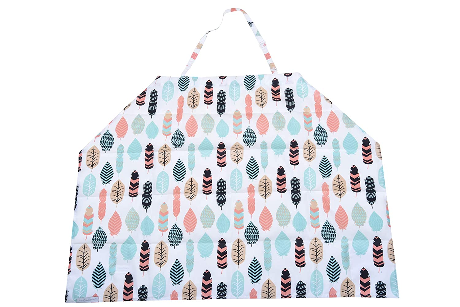 Wendy Bellissimo Nursing Cover with Interior Pockets 30 x 40 Feather