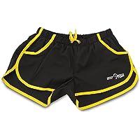 Pantalones Cortos Micro elásticos para Gimnasia/Entrenamiento de Big