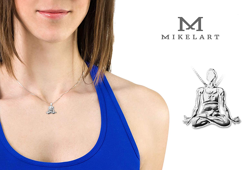 Loto MIKELART Yoga Jewellery Pendant PADMASANA