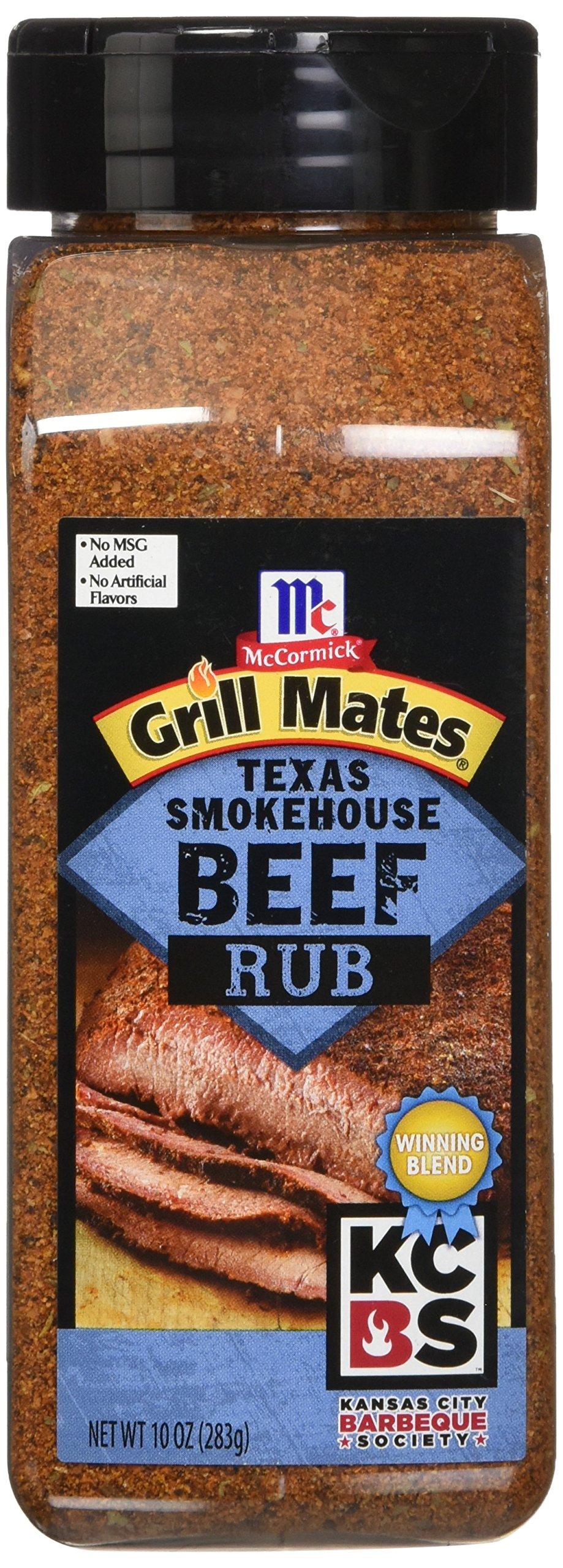 Grill Mates Kansas City Barbeque Society Texas Smoke House Beef Rub, 10 Ounce