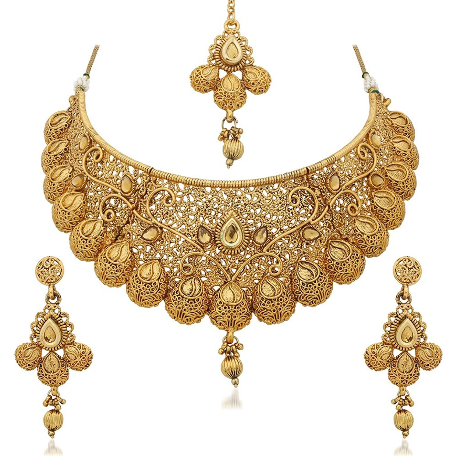women jewellery set for online stylish neckace collections buy jalebi necklaces string gold sukkhi necklace womens sale plated temple sets