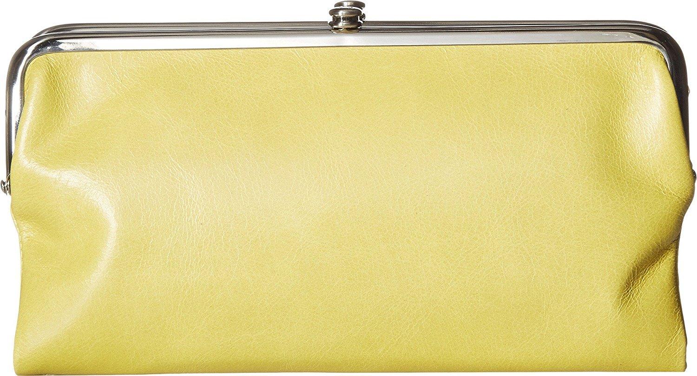 Hobo Womens Lauren Vintage Wallet Clutch Purse (Lemongrass)