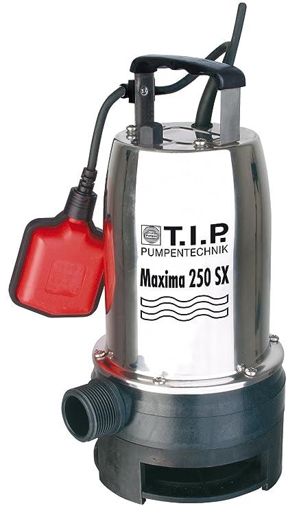 T.I.P. 30264 Bomba de inmersión para aguas residuales Maxima 250 SX