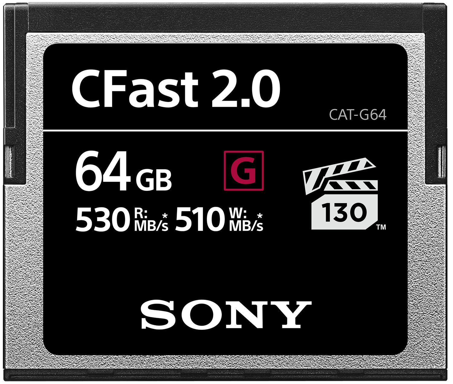 Sony CAT-G64 64GB High Performance CFast G Series 2.0 Memory Card by Sony