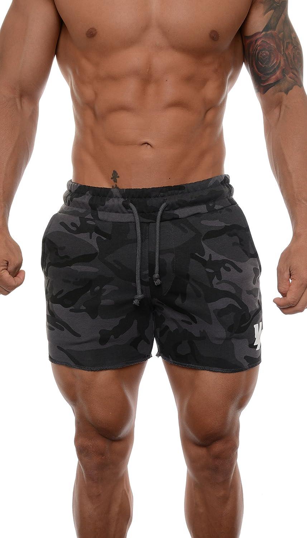 YoungLA Men's Bodybuilding Gym Workout Shorts 102