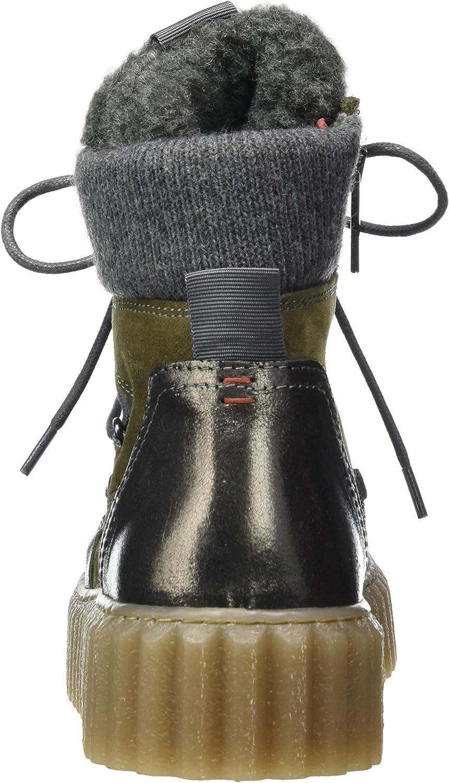 Marc O'Polo Damen 00816066301331 Halblange Stiefel 412 Khaki Combi