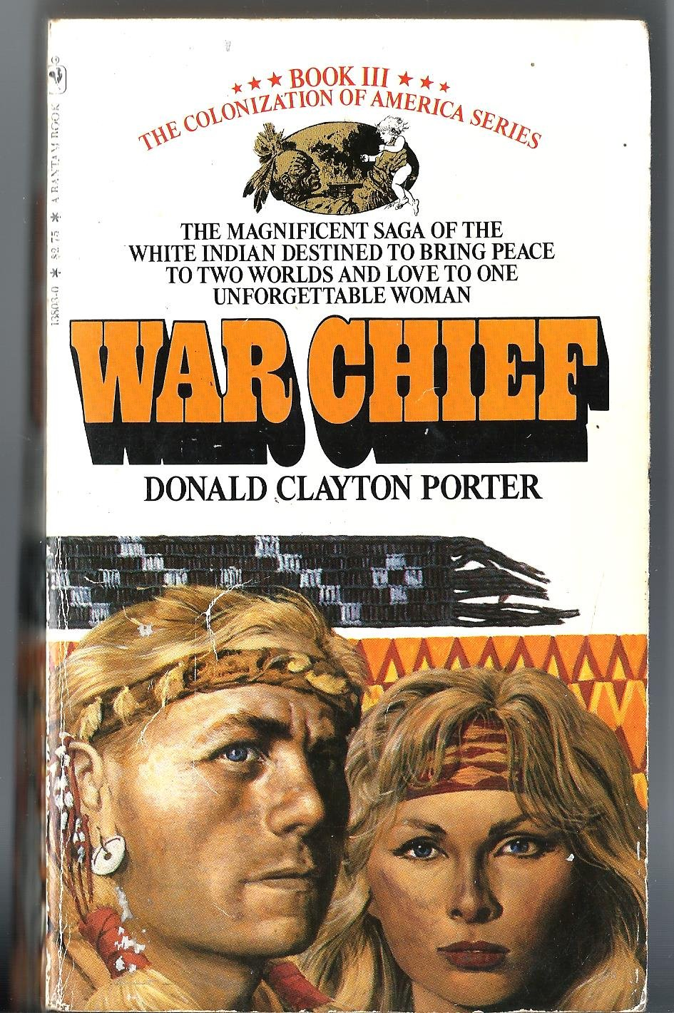 War Chief   Colonization of America #3, Clayton, Donald