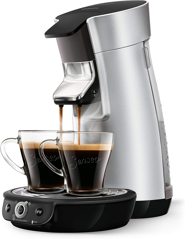 Senseo Cafetera Viva Café Duo Select HD6566/10, 0.9 litros, Acero Inoxidable, Plata: Amazon.es: Hogar