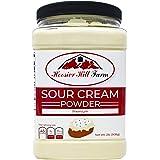 Hoosier Hill Farm Real Sour Cream powder, Gluten and Hormone.free, 2 lbs