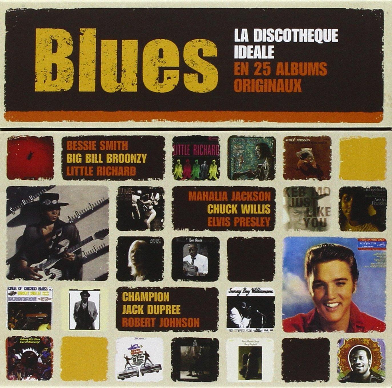 Turbo Blues : La Discothèque Idéale En 25 Albums Originaux : Multi  YJ93