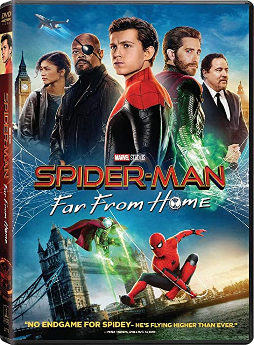The Best Spiderman  Far From Home Dvd