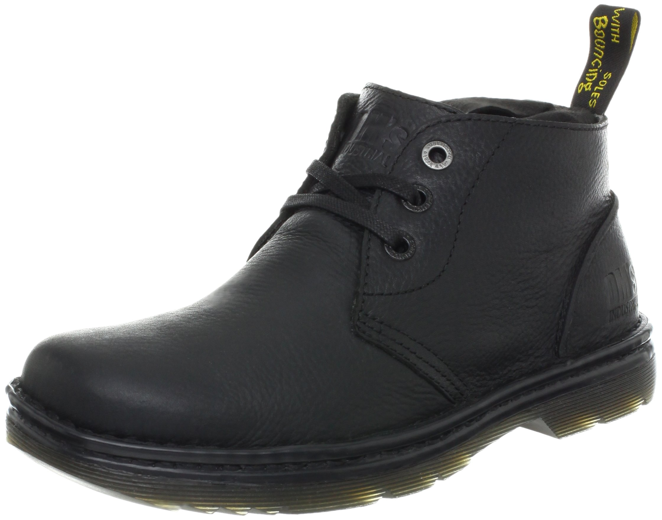 Dr. Martens Men's Sussex Work Boot,Black Bear Track,10 UK/11 M US by Dr. Martens