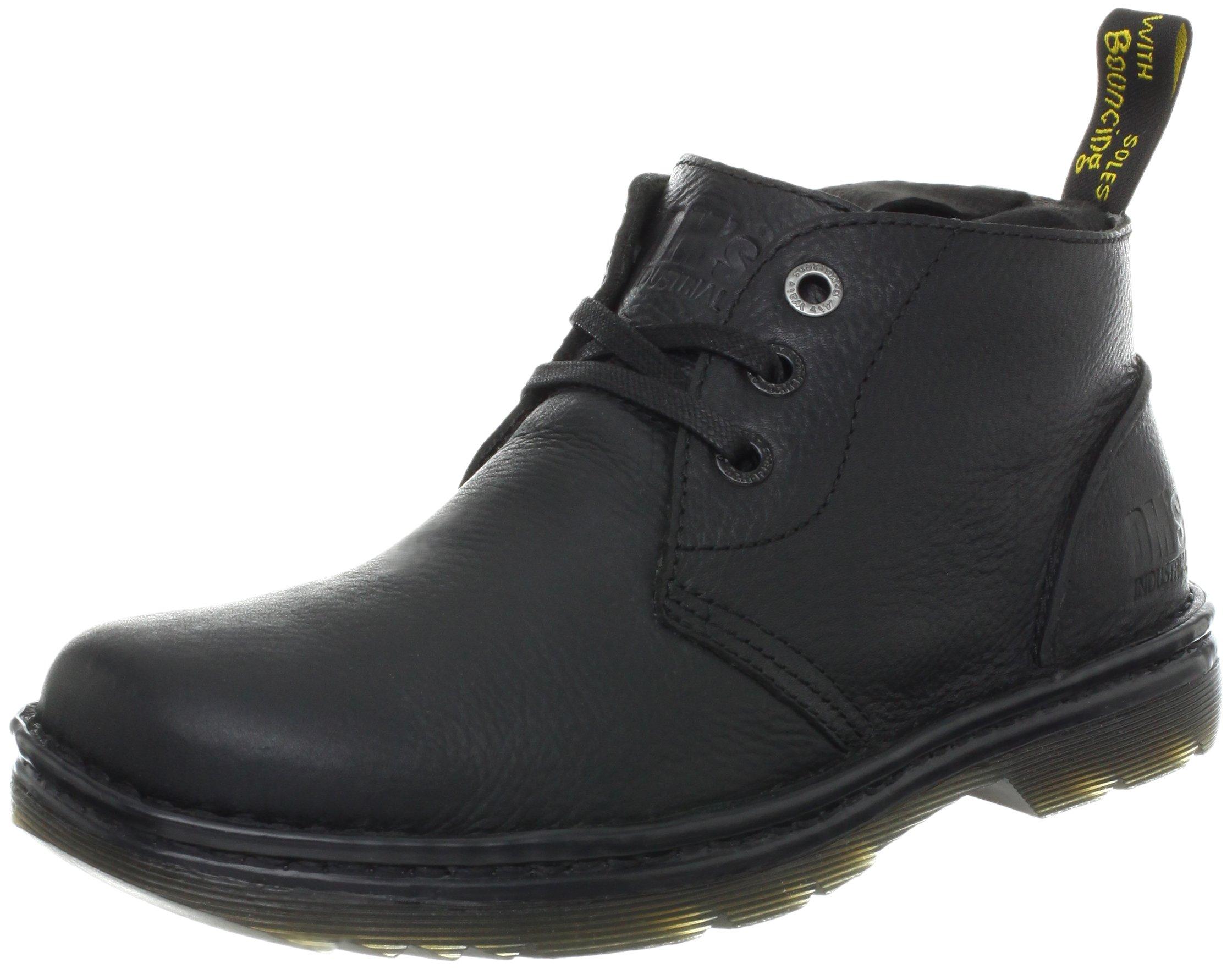 Dr. Martens Men's Sussex Work Boot,Black Bear Track,10 UK/11 M US by Dr. Martens