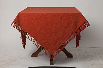 Gentil April Cornell Lyric Jacquard 60 X 108 Tablecloth