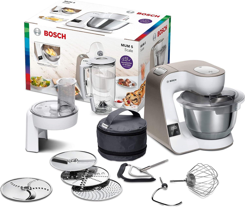 Bosch Scale Robot de cocina, Blanco: Amazon.es: Hogar