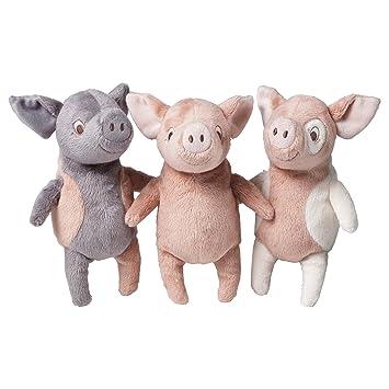 IKEA doudou cochon kELGRIS 3 couleurs