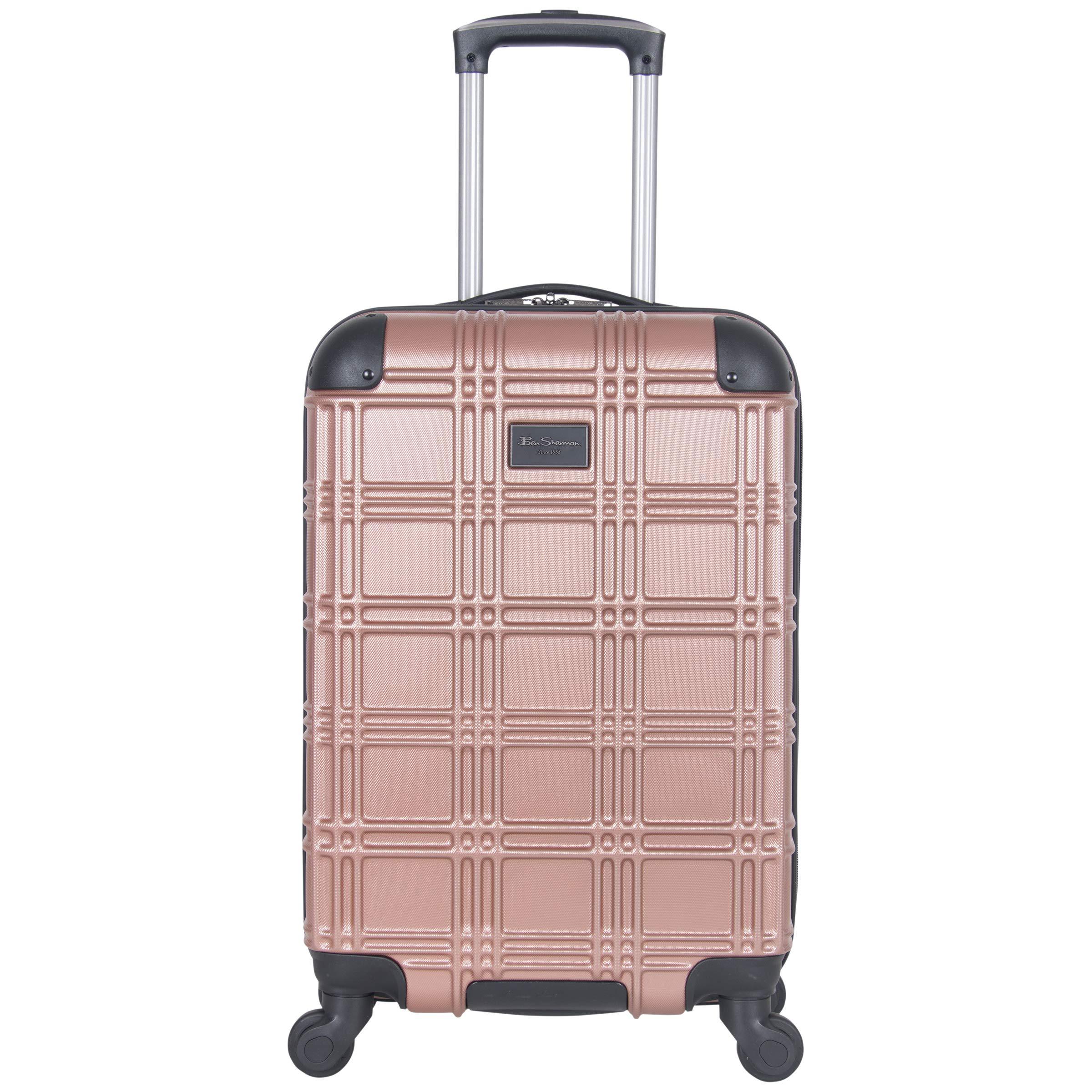 Ben Sherman Luggage Nottingham 20'' Embossed PAP 4-Wheel Carry-On