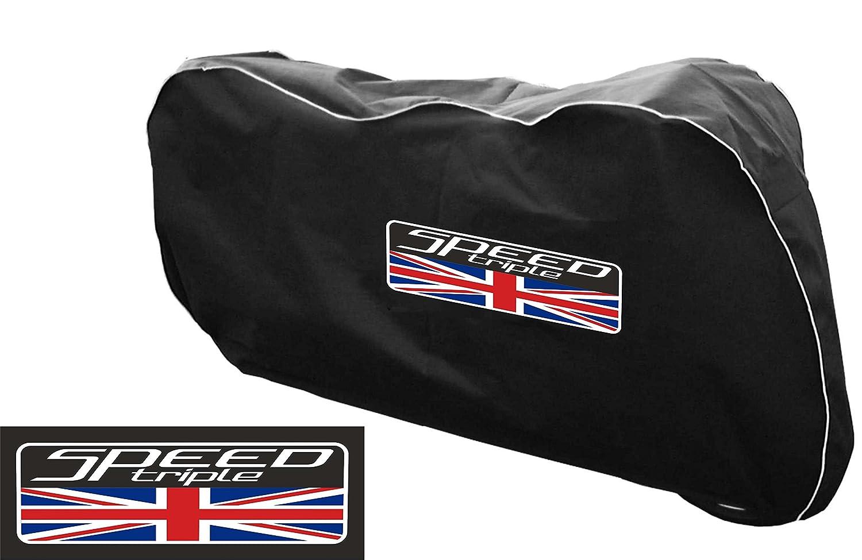 Triumph 1050/Speed Triple indoor da moto traspirante copertura antipolvere