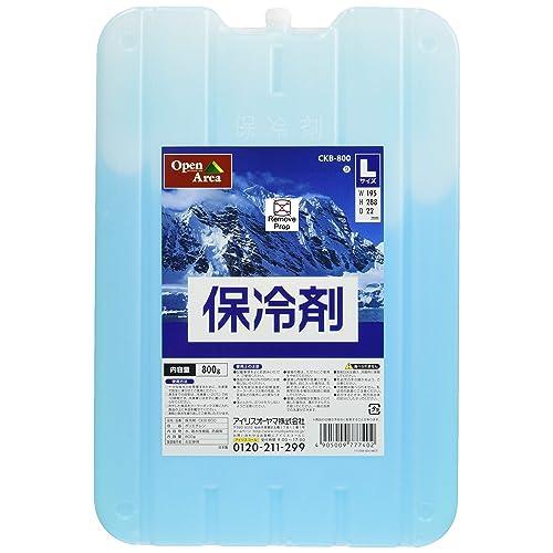 10時間で凍結するアイリスオーヤマ「保冷剤 ハード CKB-800」