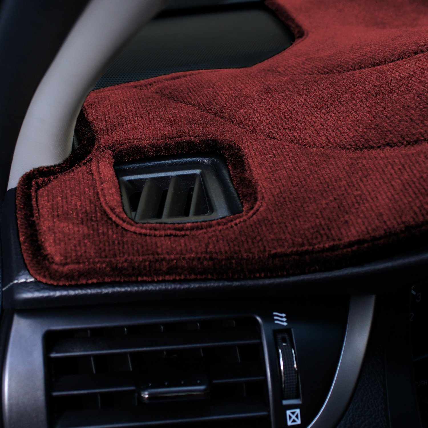 Velour Charcoal Coverking Custom Fit Dashcovers for Select Chevrolet Models