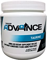 Troop Advance Taurine Powder for Cats | All-Natural Amino Acid Dietary Supplement, Essential Additive for Cat's Diet for Heart and Eye Health | 200g