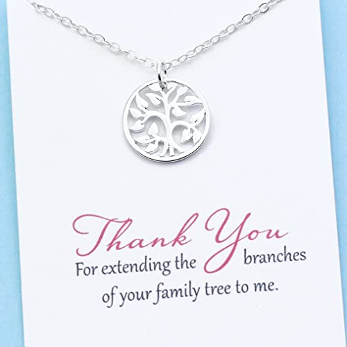 Unbiological Mom Jewelry O Personalized Gift For Mother In Law Stepmom Foster