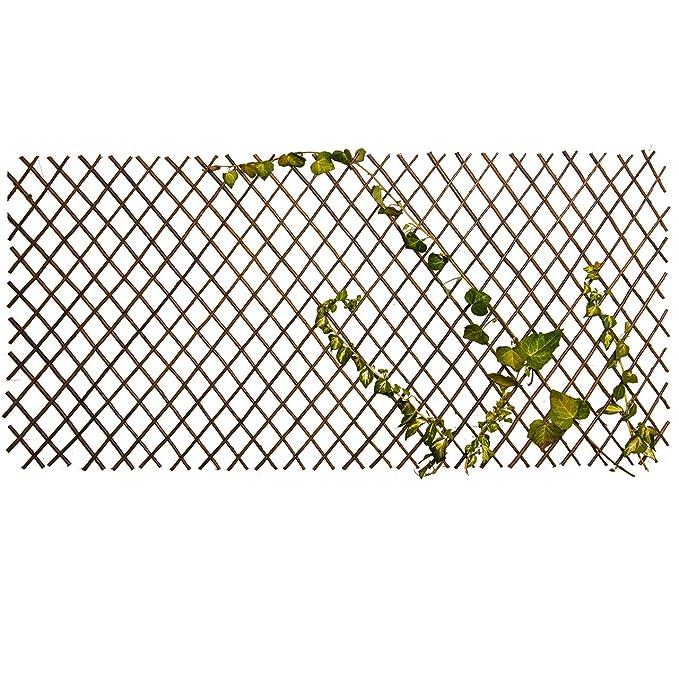 Nature by Colibr/í 5/x madera enrejado Rank ayuda pastos Privacidad variable hasta 180/x 60/cm