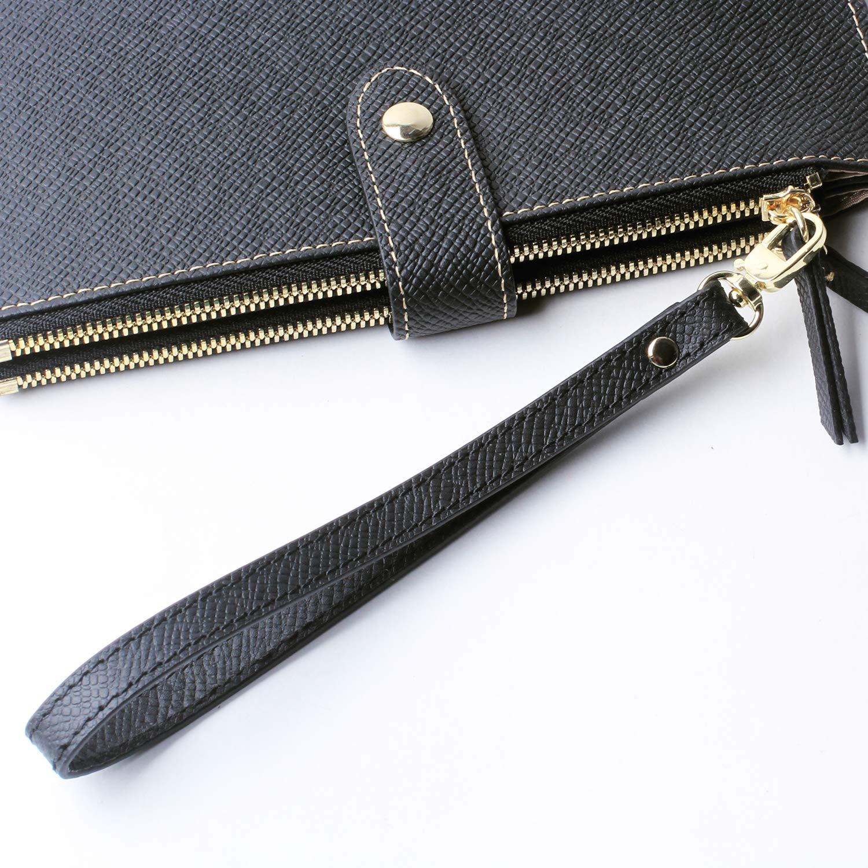 Amazon.com: Llavero de piel con cierre de velcro para bolso ...