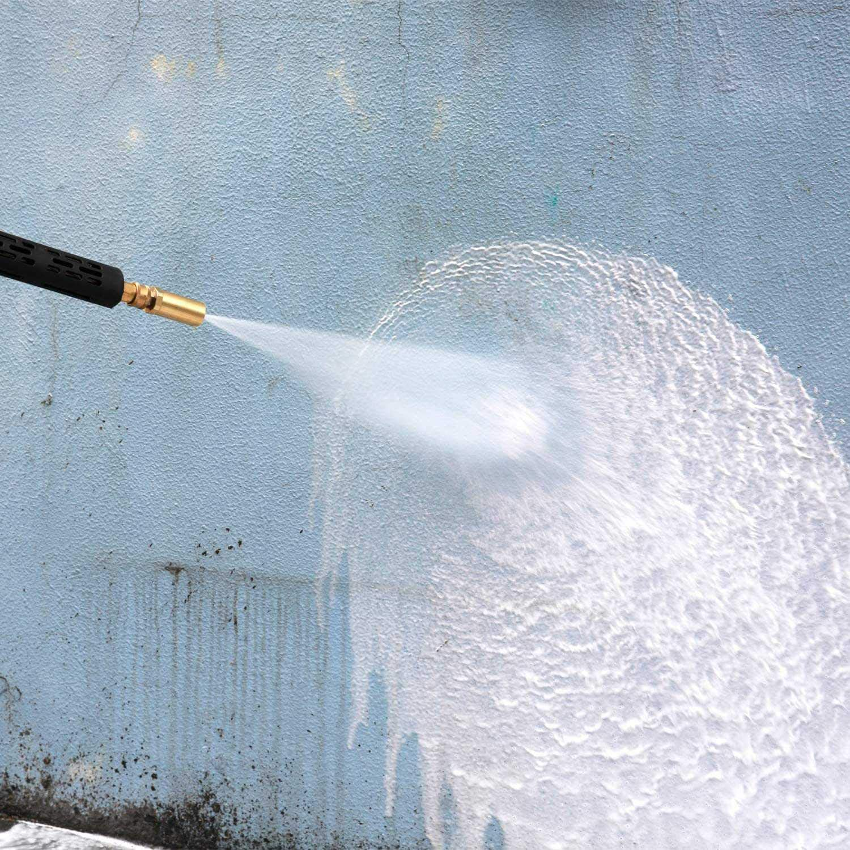 4.0 Gpm PQZATX Car Washing Pressure Washer Rotating Turbo Nozzle 3600 Psi 4.0 Orifice