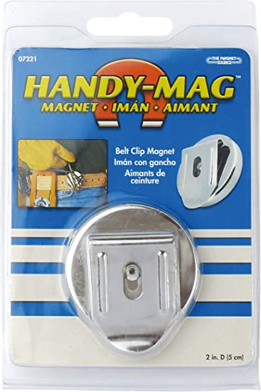 NEW 2 PACK MASTER MAGNETIC 7219  HANDY MAGNET CLIP HOLDER