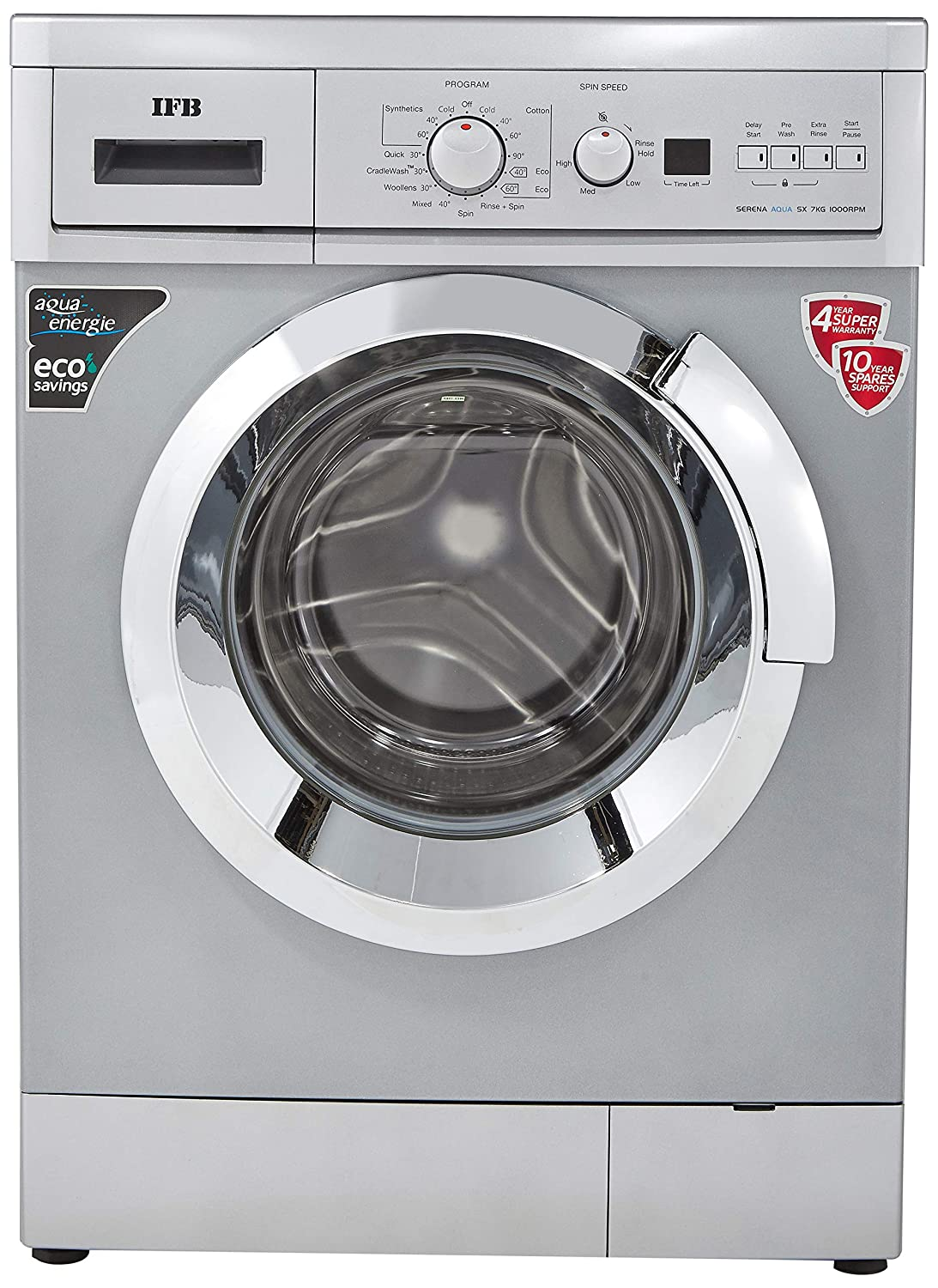 Ifb Serena Aqua Sx Fully Automatic Front Loading Washing Machine 7 Wiring Diagram Of Kg White Home Kitchen
