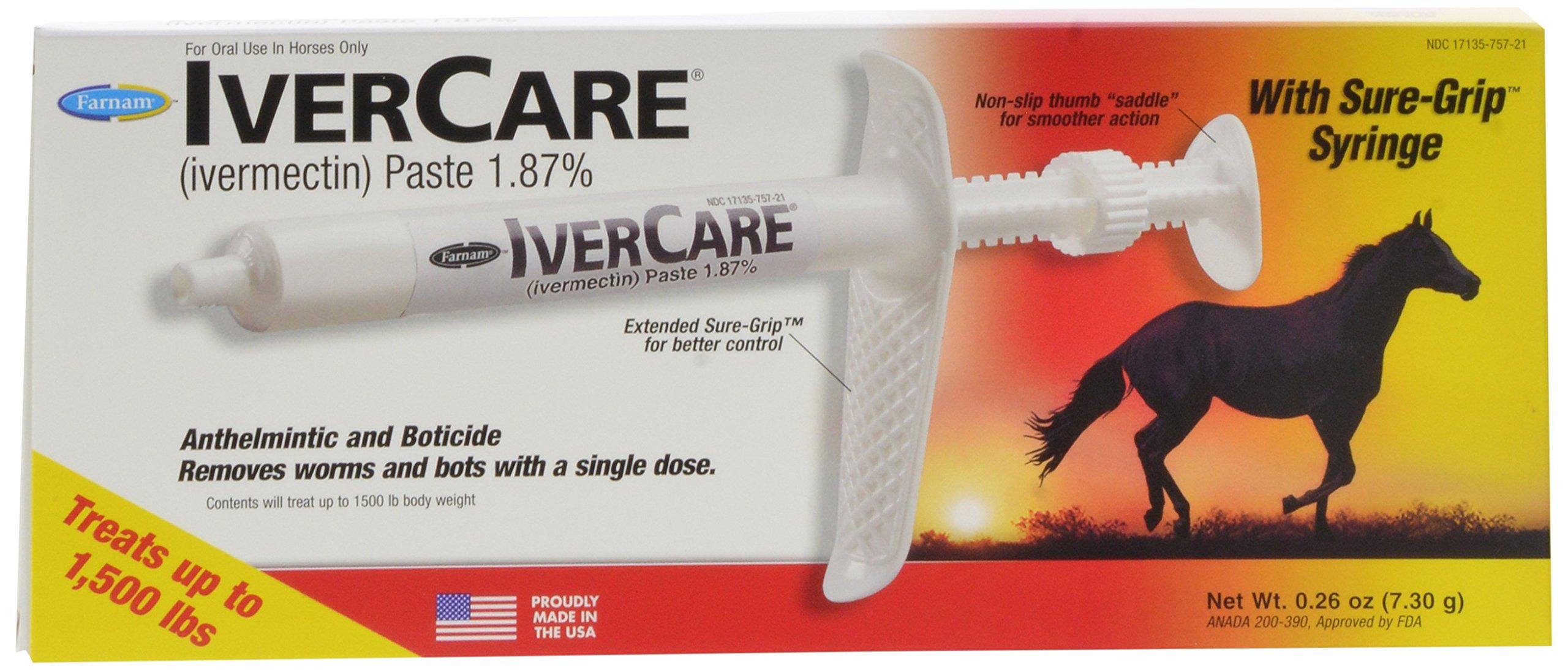 Farnam Ivercare Dewormer Paste, 3-Pack