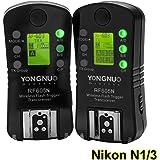 YONGNUO製 RF-605 Wireless Flash Trigger ワイヤレスフラッシュトリガー スピードライトトランスミッター Nikonデジタル一眼レフカメラ用