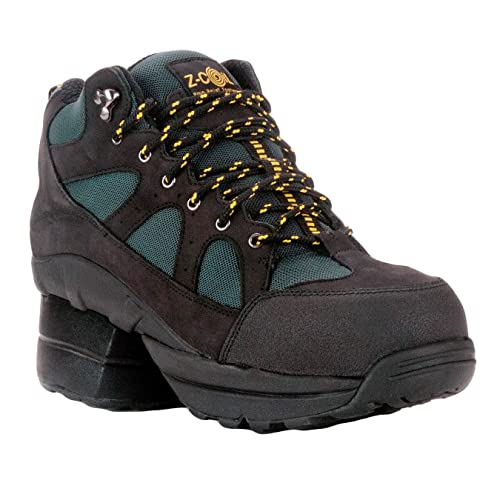 Z-CoiL Women's Outback Hiker Composite Toe Black Boots 6 C/D US