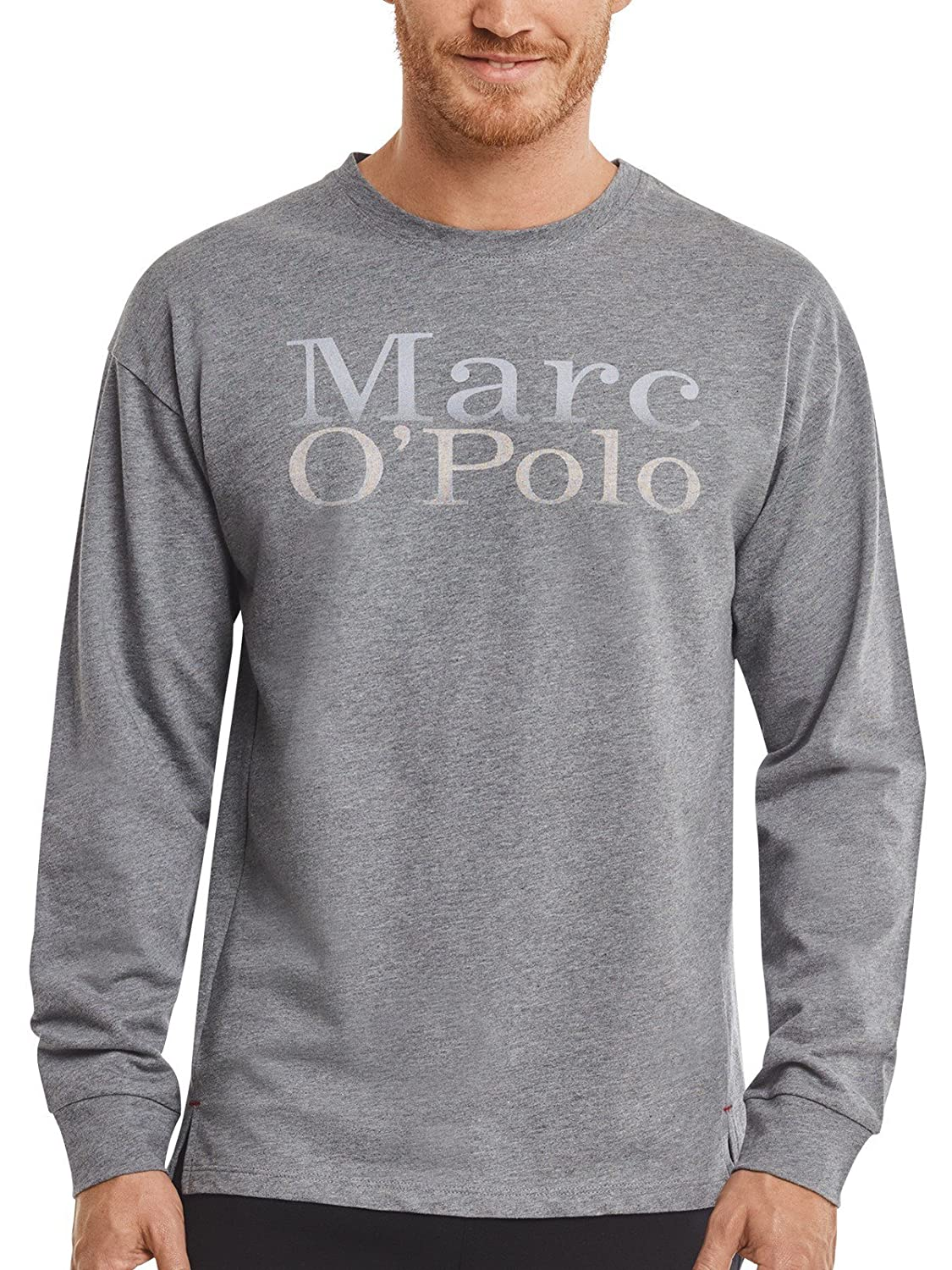 Marc O'Polo Body & Beach Herren Schlafanzugoberteil Mix M-Shirt Ls Crew-Neck Marc O´Polo Body&Beach 162095