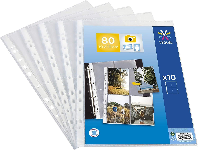 Sammel-Hüllen Veloflex 5347300 Fotohüllen DIN A4 für 8 Fot... Fotosichthüllen