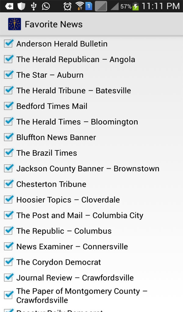 Amazoncom Indiana News Appstore For Android