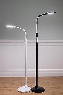 Stella SKY Two LED Floor L&-Black & Amazon.com: Stella Lighting Stella Task Lamp Black LED Light with ...