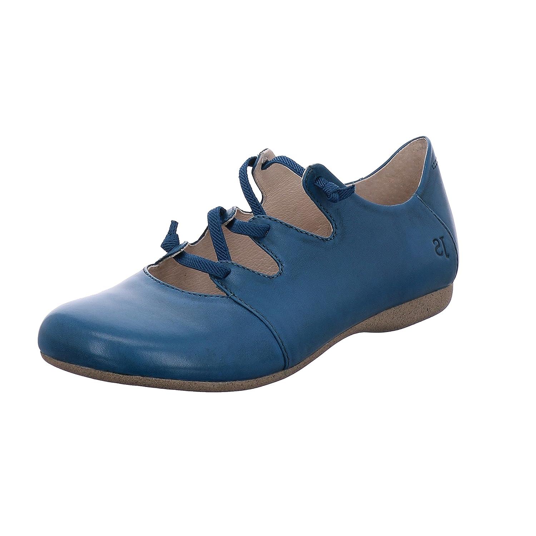 Josef Seibel - Bailarinas de cuero para mujer 37 EU|Azul (Blue 971 500)