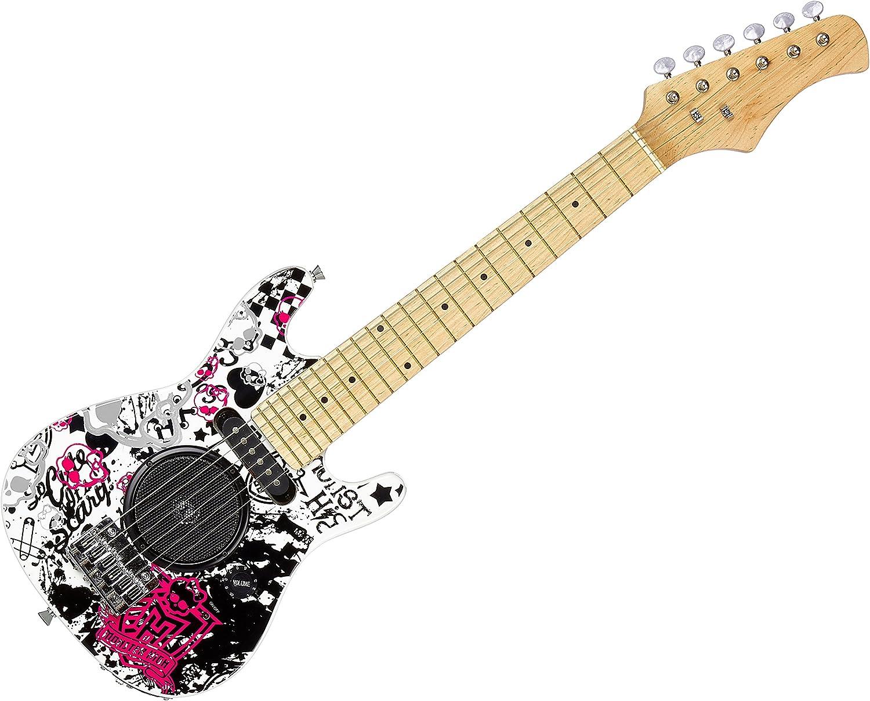 LEXIBOOK (K2500L Guitarra eléctrica con Altavoces Integrados ...