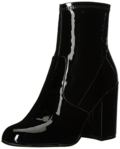 Boots for Women, Booties On Sale, Black, suede, 2017, 4 7.5 Steve Madden
