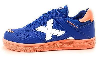 Munich Continental Kid V2 892, Zapatillas de Deporte Unisex niño, Azul, 33 EU