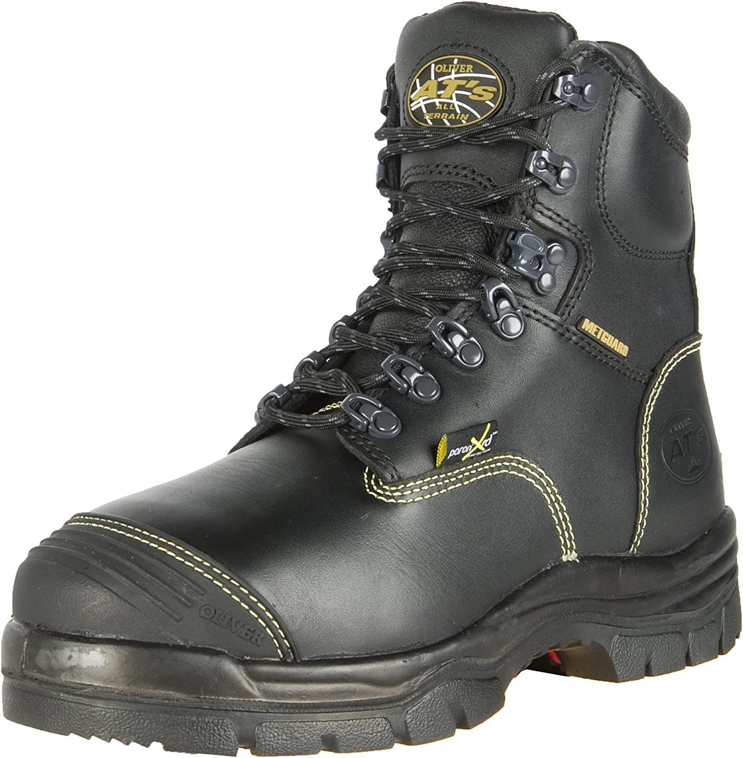 Leather Steel Toe Puncture-Resistant