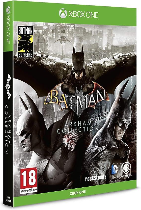 Batman Arkham Collection Steelbook Edition - Xbox One [Importación ...